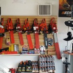Chainsaws Inside store